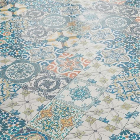 liberty floors aurora mm ornate moroccan tile laminate