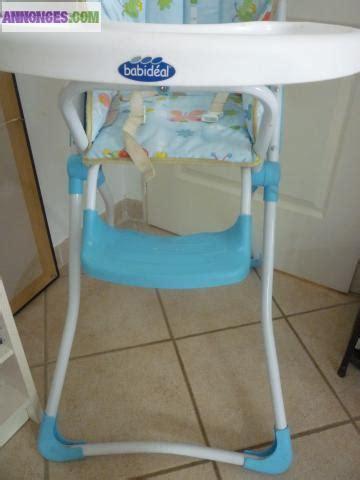 chaise haute babideal chaise haute babideal