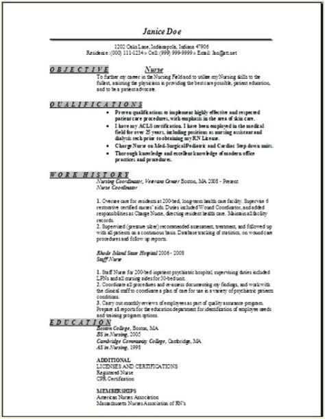 dialysis resume sle 1 resume templates