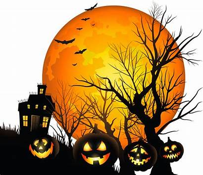 Haunted Clipart Moon Halloween Transparent Yopriceville Previous