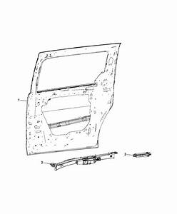 2016 Dodge Grand Caravan Module  Sliding Door