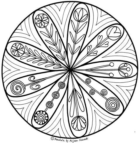 mandalas für grundschulkinder mandalas zum ausdrucken f 252 r grundschulkinder 3 4 lara
