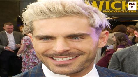 Zac Efron Interview Extremely Wicked Shockingly Evil and ...