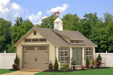 Detached 1, 2 and 3 Car Garages in NC   Buy Prefab Garages