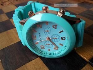 Uhren Trend Damen : geneva silikon uhr armbanduhr damen herren kinder sport trend uhren watch ~ Frokenaadalensverden.com Haus und Dekorationen
