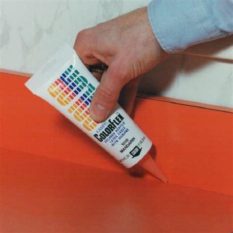colored silicone caulk acrylic caulk colorflex richelieu hardware