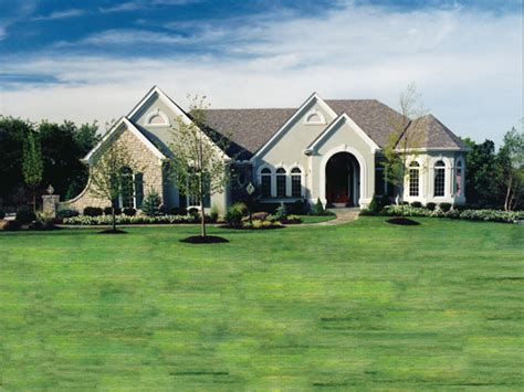 altonwood luxury ranch home plan   house plans