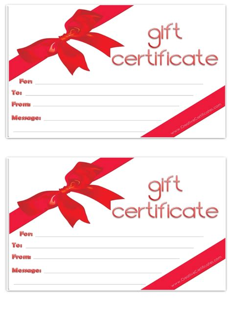 free gift certificate template free clip free clip on clipart library