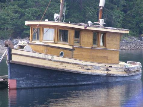 Barge And Tug Boats For Sale by Small Tug Boats For Sale Bc Top Run About Boats Wooden