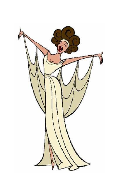 Clipart Hera Hercules Clip Aphrodite Muses Disney