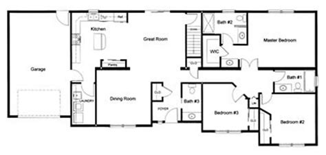 3 bedroom 2 bath floor plans 3 bedroom 2 bath open modular floor plan created and designed by our customer for a