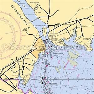 Maryland - Susquehanna River, Havre De Grace / Nautical