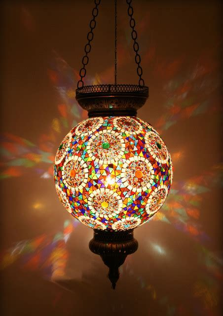 Pendant Lighting Ideas: Top mosaic pendant light shade