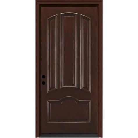 prehung exterior door shop jeld wen right inswing sequoia stained
