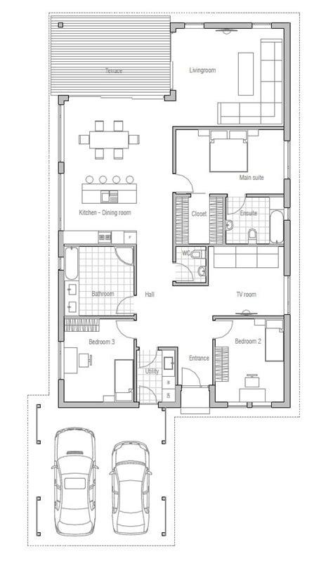 modern family home floor plans house plan