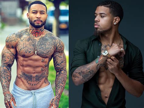 hottest black men  tattoos  tattoo ideas  dark skin