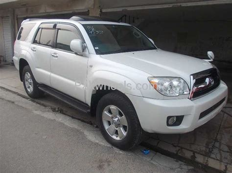 toyota surf car used toyota hilux surf ssr g 2007 car for sale in lahore