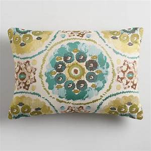 cool suzani jacquard lumbar pillow world market With cool lumbar pillows