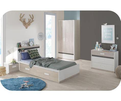 chambre blanche et bois ophrey com set de chambre bois blanc prélèvement d