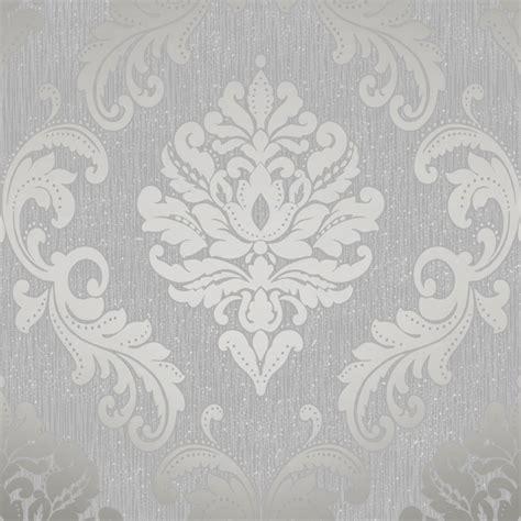 henderson interiors chelsea glitter damask wallpaper soft