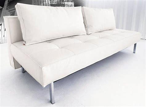 matelas mousse pour canapé convertible canape lit design sly deluxe facon cuir blanc innovation