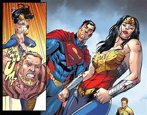Superman And Wonder Woman VS Hercules (Injustice Gods ...