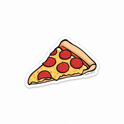 Pizza Slice Pepperoni Clipart Sticker Transparent Clip