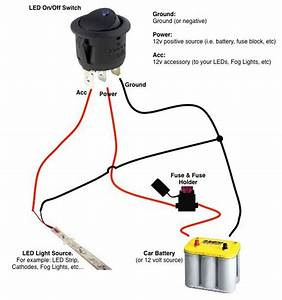 Mod Led Switch Wiring Diagram