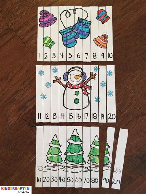 best 10 number puzzles ideas on number 268 | 6e95f8cbd90897de7b946f93084fb426 preschool winter preschool math