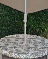 fitted outdoor tableclothswith umbrella hole fitted fern