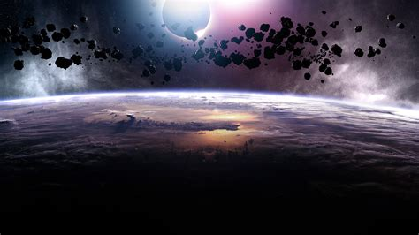 asteroids eclipse wallpapers hd wallpapers id