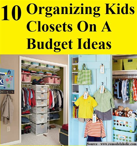 10 organizing closets on a budget ideas home and