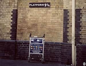 Harry Potter In London  Platform Nine And Three