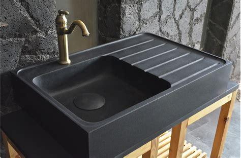 evier noir cuisine évier en pour cuisine shadow granit grand