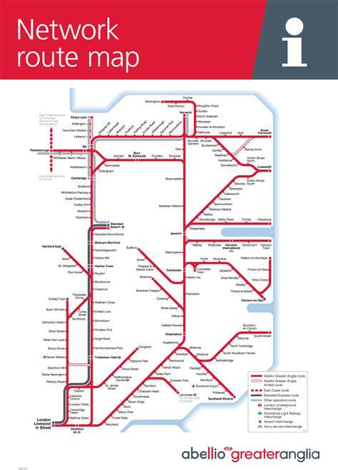 suffolk  board train maps
