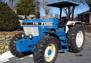 1989 Ford 7710 Tractor In Silver Spring  Maryland