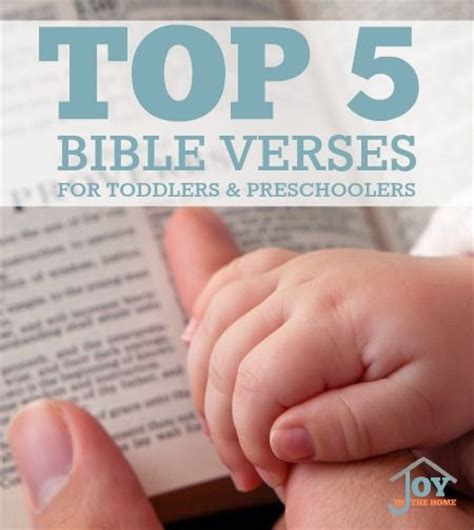 top 5 bible verses for toddlers and preschoolers 338 | 3f7e59c47e83c5bf38396a8046e41c1c