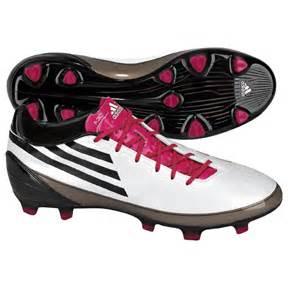Adidas F30 AdiZero TRX FG Soccer Shoes White Radiant Pink