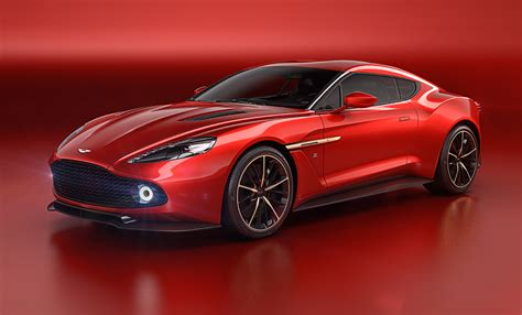 Aston Martin Unveils Vanquish Zagato Concept At Villa D'este