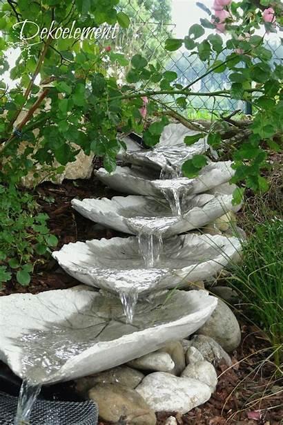 Water Fountain Concrete Garden Projects Helepinebak Crafts