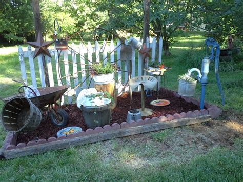 Primitive Garden Pinterest