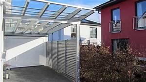Carport Mit Glasdach : glasdach carports und transparentdach carports carport garage in holz stahl alu ~ Whattoseeinmadrid.com Haus und Dekorationen