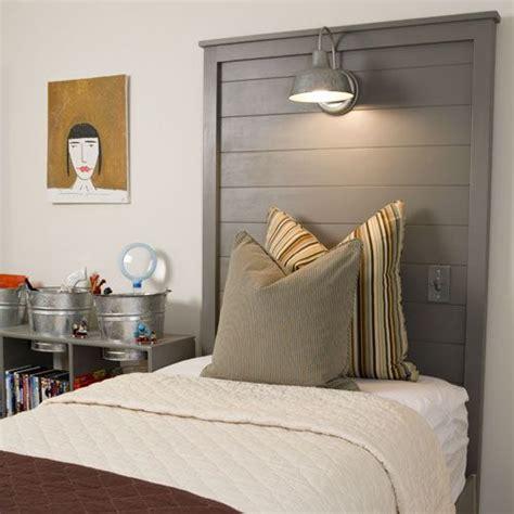 lights for headboards 27 diy wooden headboard ideas