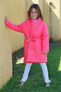 Robe de chambre fille fushia etoile l39orangerie for Robe de chambre polaire fille
