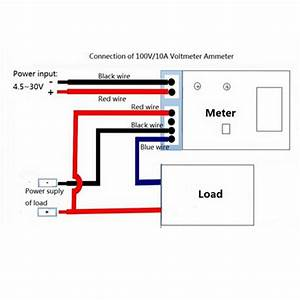 Digital Amp Meter Wiring Diagram