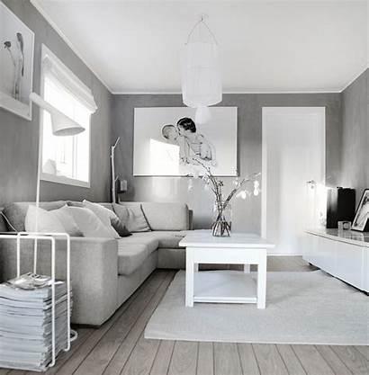 Grey Living Interior Designs Decoration