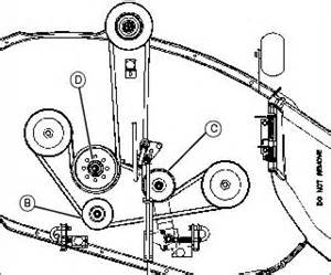 lawn mower belt diagrams lawnmowers snowblowers