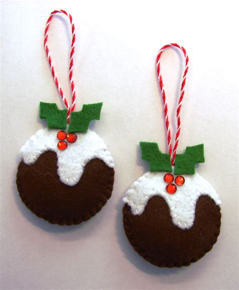 felt christmas puddings cattitudes s weblog