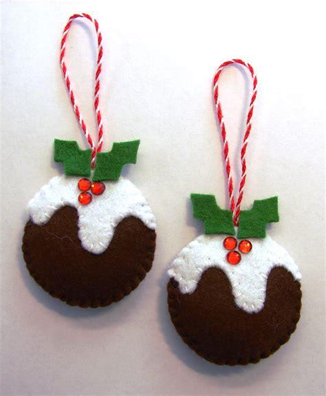 Felt Christmas Puddings  Cattitudes's Weblog