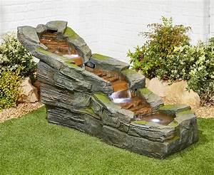 Simmering, Falls, Easy, Fountain, Garden, Water, Feature